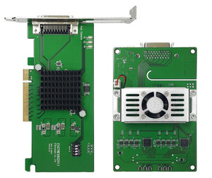 2 Channel PCI Express Frame Grabber &  MIPI C-PHY/D-PHY Combo Interface